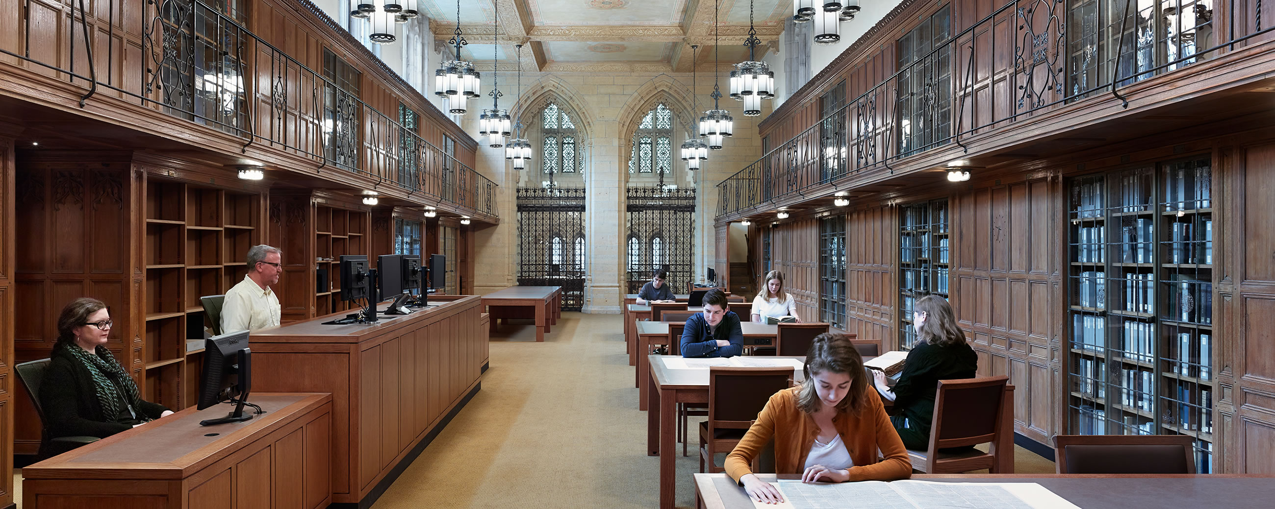 Yale University Sterling Memorial Library Code Red